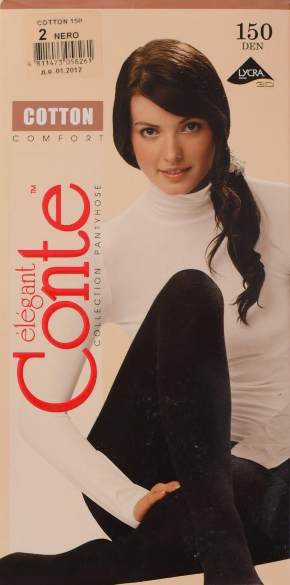 Conte Cotton 150 фото колготки