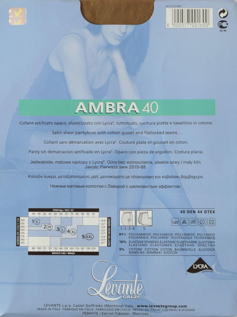 Амбра 40 описание колготок леванте