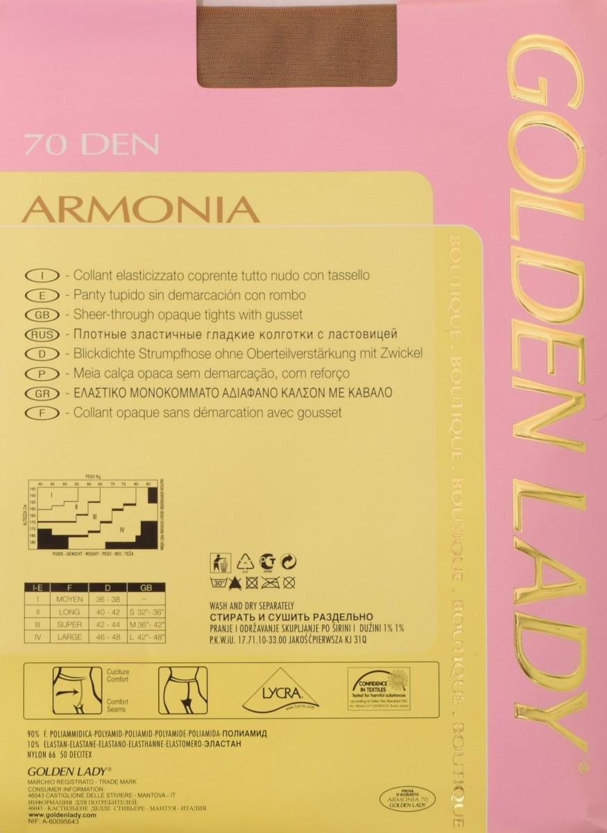 армония 70 описание колготок голден леди