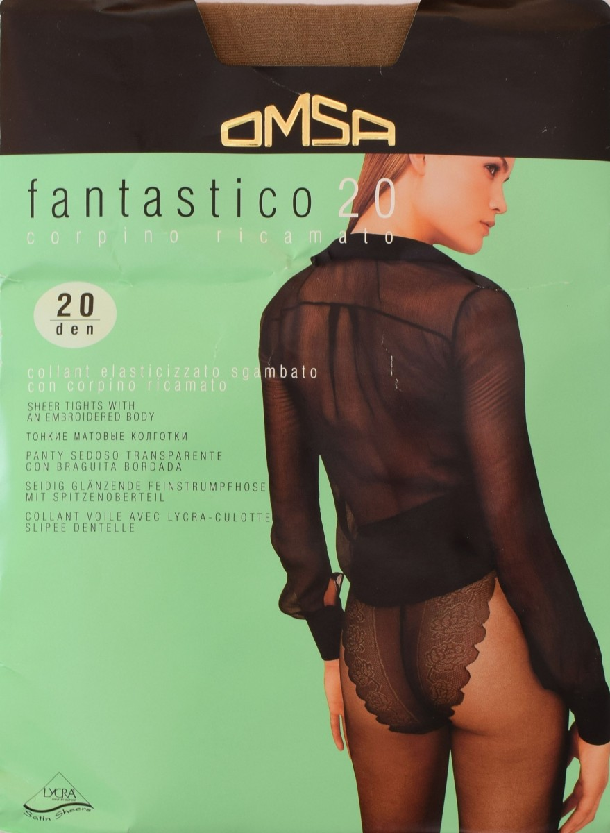 Fantastico 20 фото колготки omsa