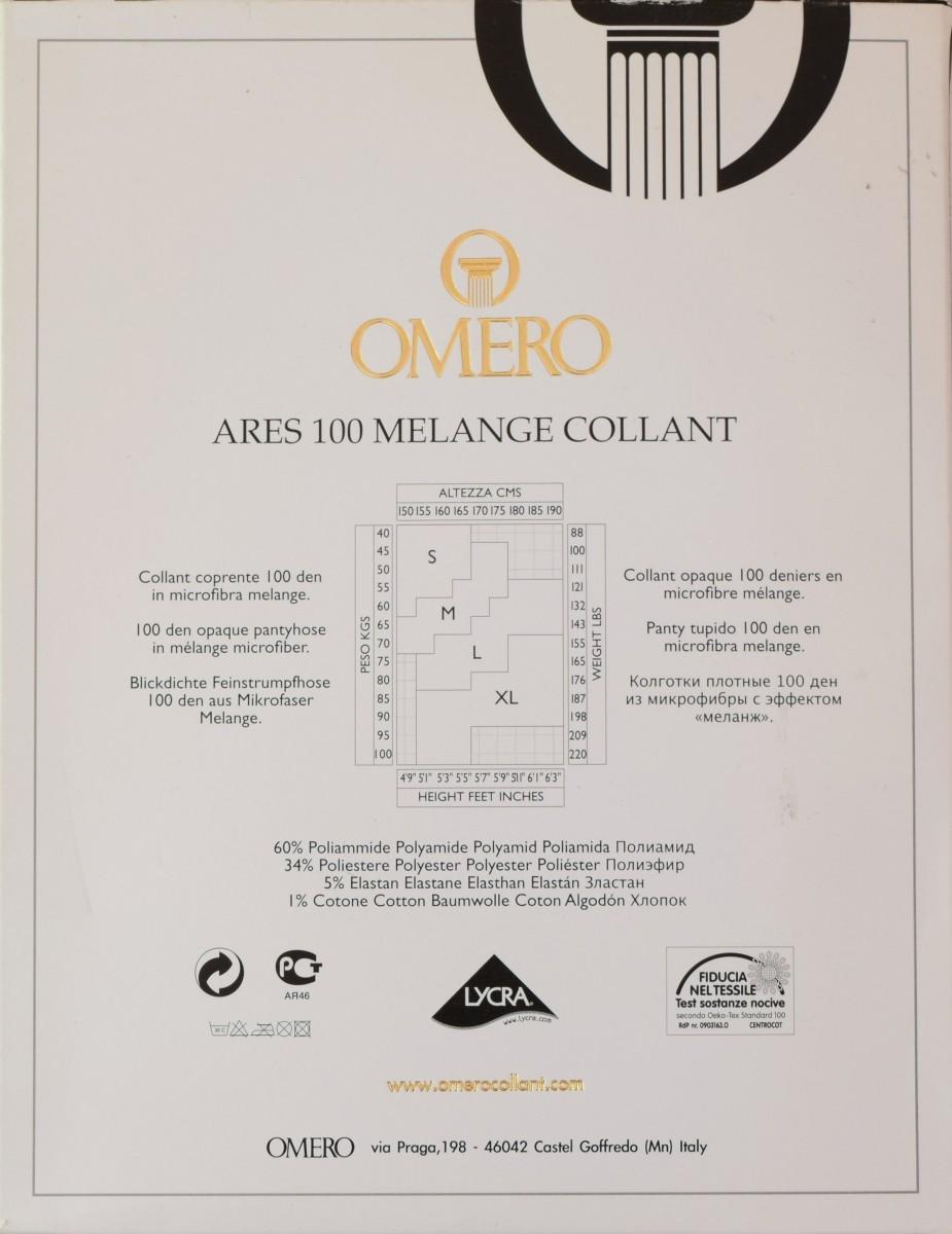 Ares 100 melange omero описание колготок