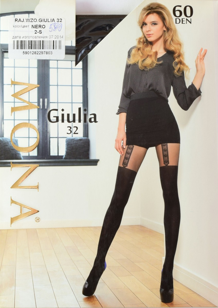 Giulia #32 60 den фото колготки Mona