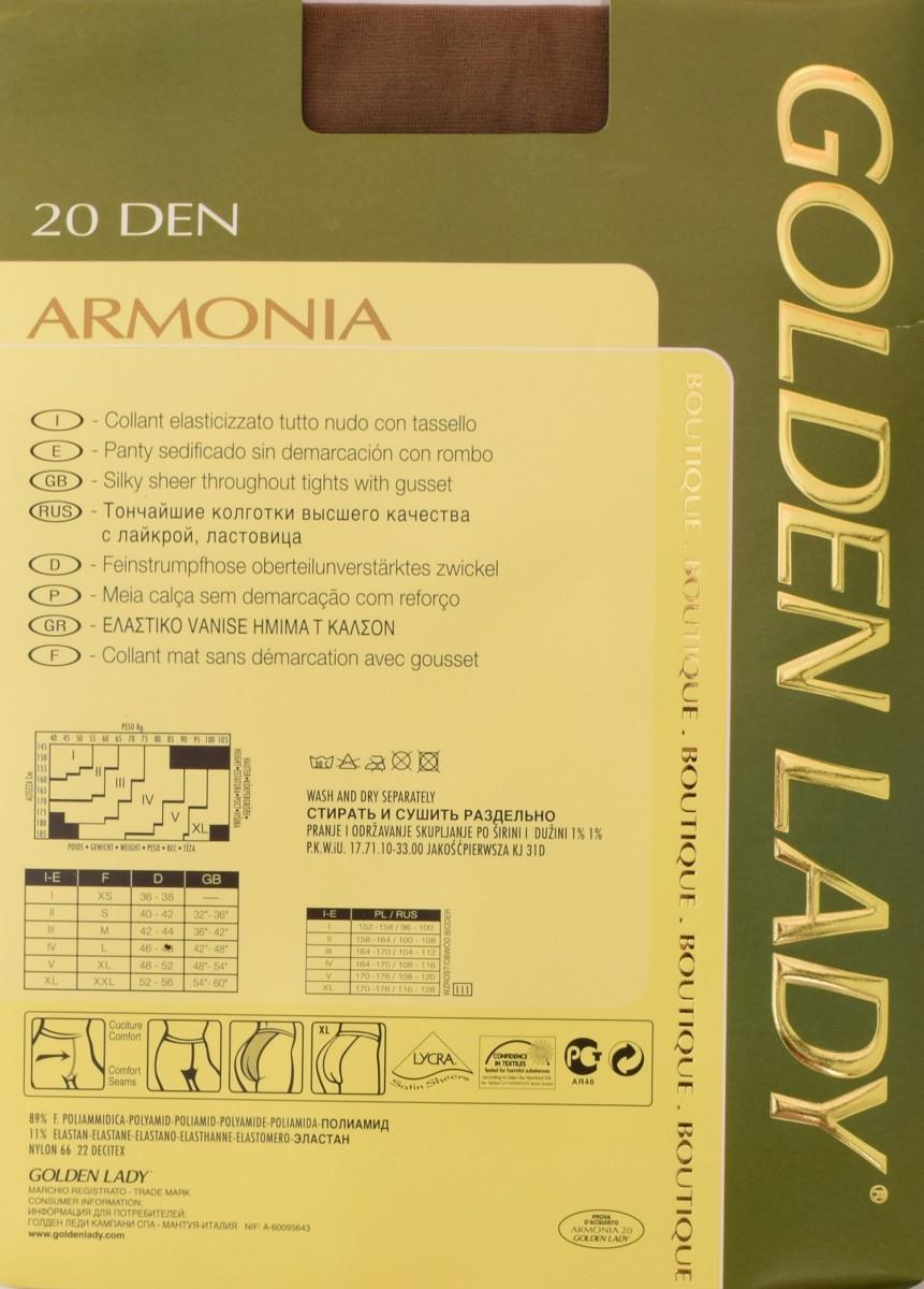 армония 20 описание колготок голден леди