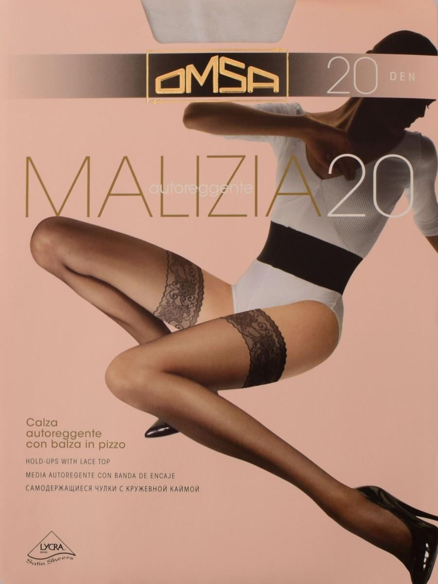 Malizia 20 фото чулки omsa